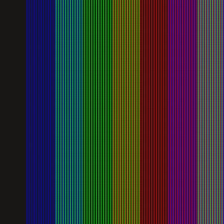 Television I (2015). Op Art by Dennis Smit
