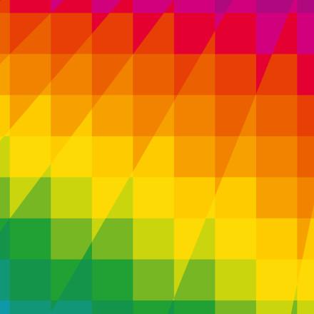 Squares I (2015). Op Art by Dennis Smit